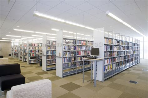 design with modern library furniture in illinois archives
