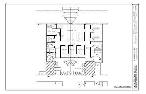 chiropractic office condo suite floorplan with chiropractor office floorplan with therapy and massage