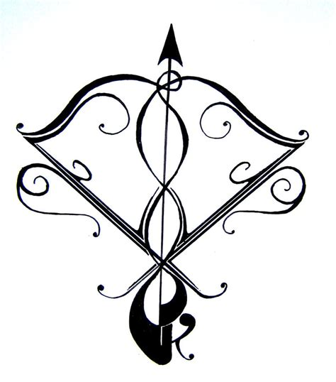 sagittarius tattoo pin sagittarius on