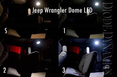 Jeep Wrangler Led Interior Lights Fs 2010 2012 Jk Wrangler Led Conversion Kit Upgrade Your