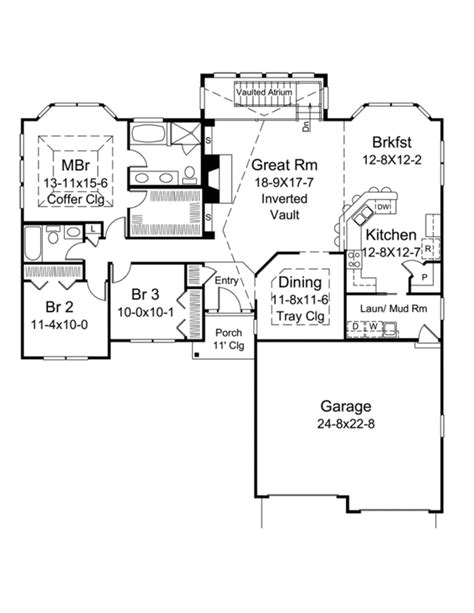 2100 sq ft house plans ranch style house plan 3 beds 2 baths 2100 sq ft plan