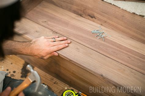 installing hardwood flooring on stairs how to install