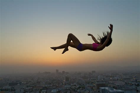 free falling we should all quit being afraid to fall
