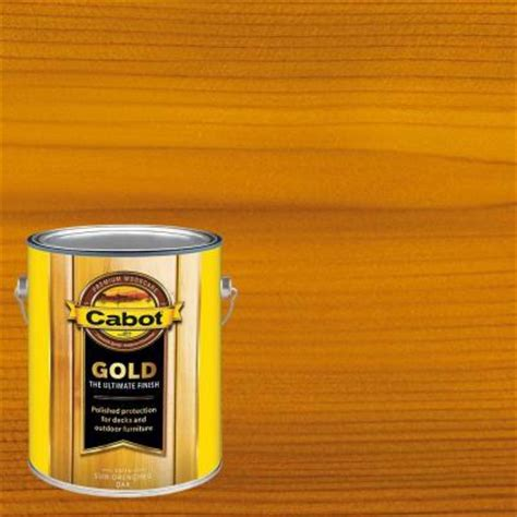 cabot  gal sun drenched oak gold oil exterior deck