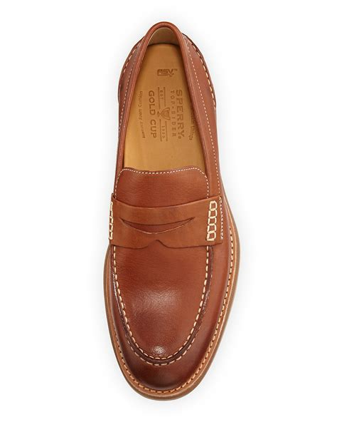 sperry loafer sperry top sider gold cup bellingham loafer in