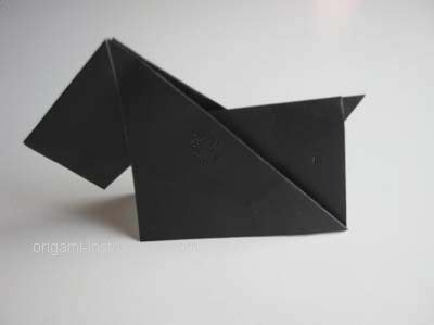 Origami Scottie - 134 best images about origami patterns on