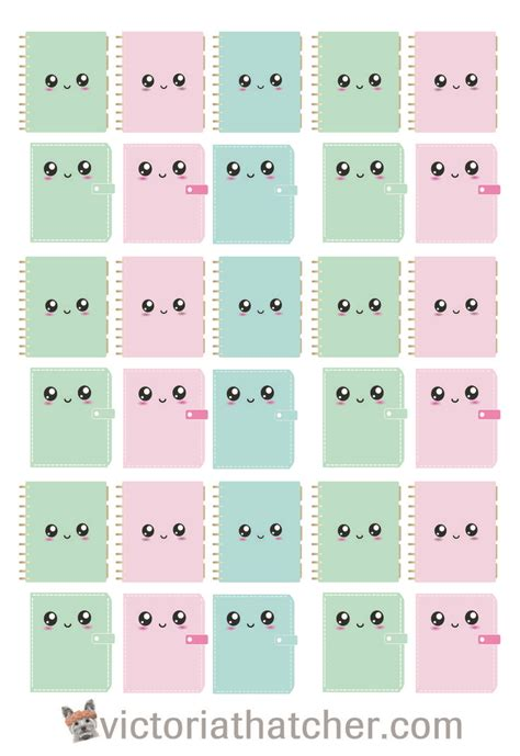 free printable kawaii planner stickers the 25 best kawaii planner ideas on pinterest how to
