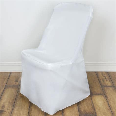 folding chair slipcovers 10 pcs lifetime folding chair covers slipcovers polyester wedding party linens ebay