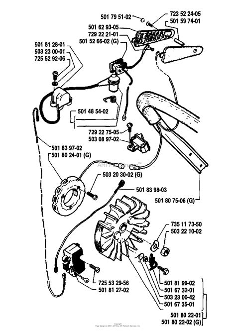 Husqvarna 288 (1990-01) Parts Diagram for Ignition/Flywheel