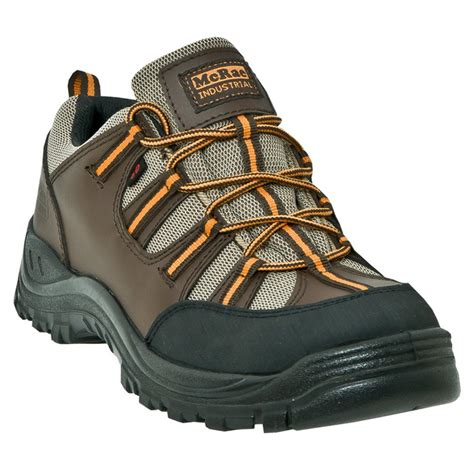 mens steel toe hiking boots s mcrae 174 steel toe low work hiking boots 281619