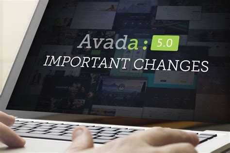 avada theme news ticker important changes coming in avada 5 0 theme fusion