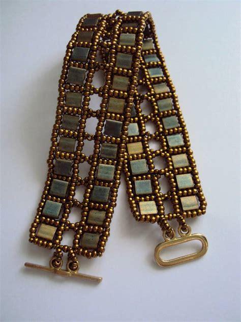 tila bead bracelet by opaldust on deviantart