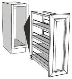 narrow kitchen cabinet organizers pull out base cabinet organizers full insert rta cabinet store