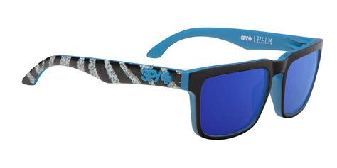 helm design syndicate spy sunglasses and ken block add color to your style by
