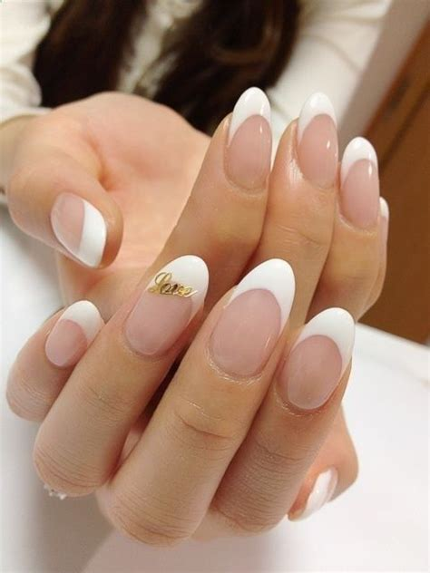 tips design best 25 almond nails french ideas on pinterest almond