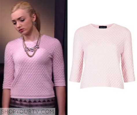 Sweater Pink List season 3 episode 21 s quilted pastel pink