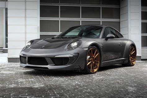 porsche trunk porsche 991 carrera 4s with stinger body kit by topcar