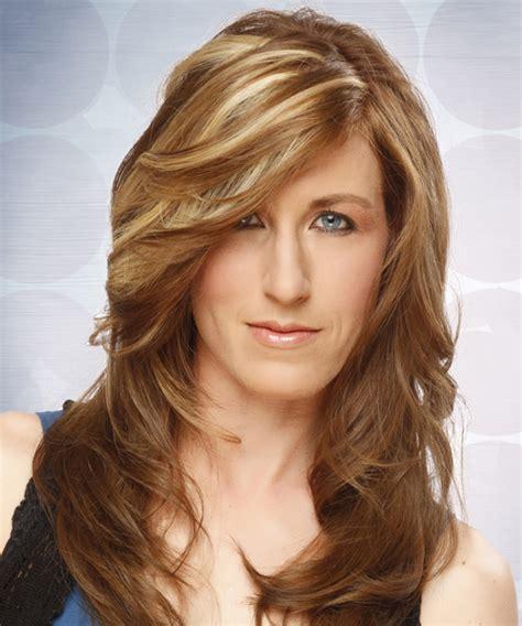 Long Straight Formal Hairstyle   Light Brunette (Caramel)