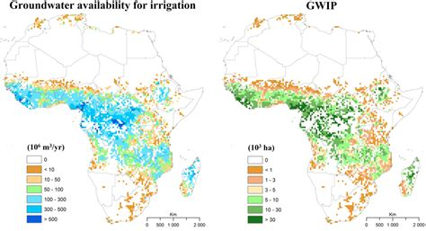 africa map key is groundwater the key to increasing food security in sub
