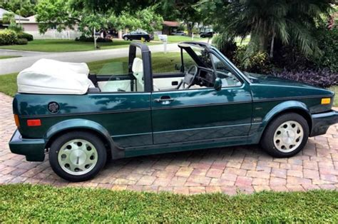 how to sell used cars 1993 volkswagen cabriolet auto manual beautiful original 1993 volkswagen cabriolet collectors edition 60 000 miles classic
