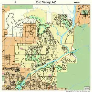 oro valley arizona map 0451600