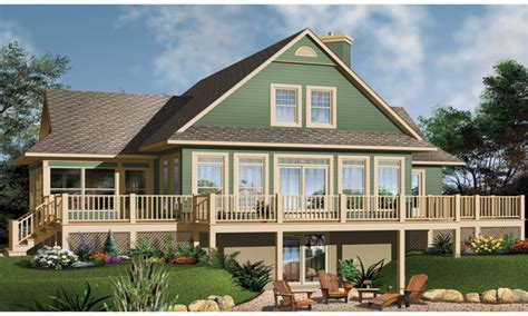 One Story Lake House Plans by Lake House Plans With Screen Porches Lake House Plans With