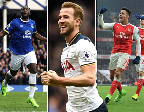 epl top scorer premier league stats top scorers 2016 17 sport