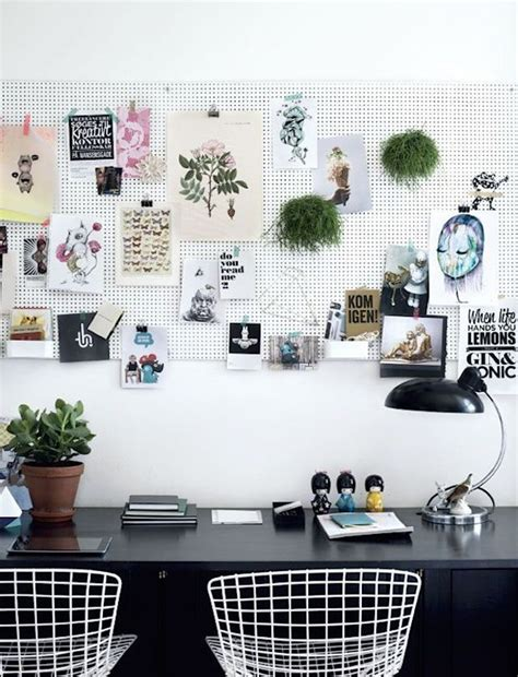 pegboard design 20 functional pegboard concepts to organize your room