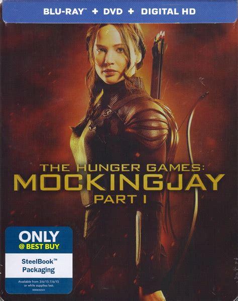 the hunger games mockingjay part 1 dvd digital copy the hunger games mockingjay part 1 steelbook bd dvd