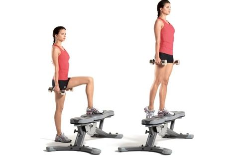 knee on bench dumbbell 5 leg muscle sturdiness exercises for runners strength