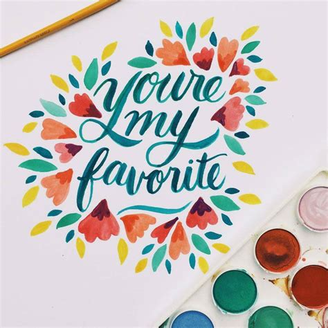calligraphy watercolor ideas  pinterest water