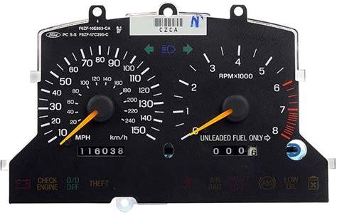 manual repair autos 1997 ford mustang instrument cluster 1995 1998 ford mustang gt instrument cluster repair