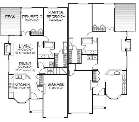 ranch duplex floor plans linton ranch style duplex plan 072d 0226 house plans and more