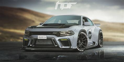 Coupe Dodge Charger by Widebody Dodge Charger Hellcat Rendered As The Coupe Dodge