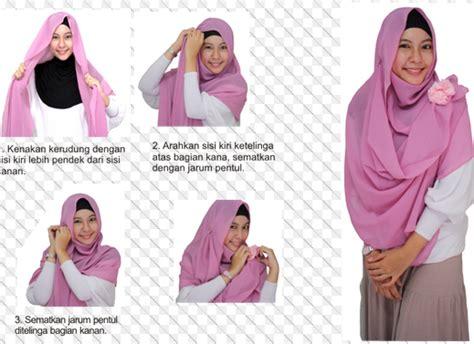 kreasi hijab modern hairstylegalleriescom menggunakan hijab yang benar kreasi hijab modern yang