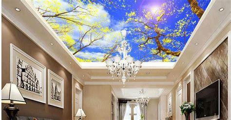 wallpaper motif awan wallpaper awan untuk plafon nirwana deco jogja