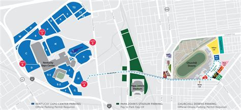 kentucky derby map maps directions 2018 kentucky derby oaks may 4 and