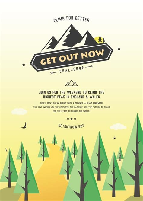 Download The Outdoor Event Poster Free Flyer Template For Photoshop Outdoor Flyer Template