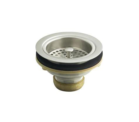 kohler sink strainer basket faucet com k 5814 4 k 10433 bv in brushed bronze faucet