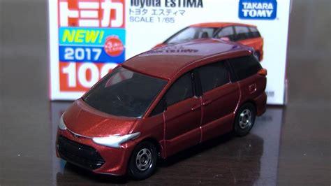 tomica toyota estima トミカ 開封 no 100 トヨタ エスティマ 2017年9月