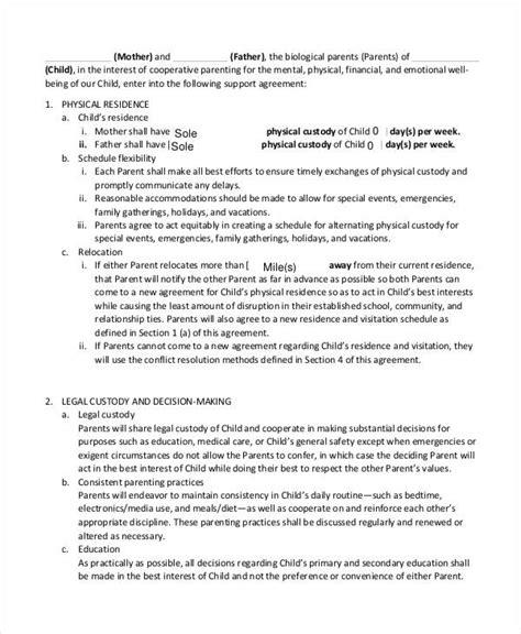 agreement letter samples templates livecareer