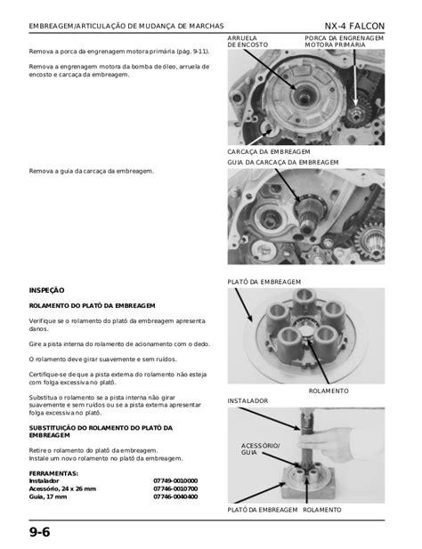 Manual de serviço ms nx 4 falcon - 00 x6b-mcg-002 embreage