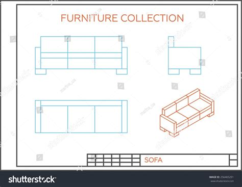 sofa isometric view sofa clipart isometric view pencil and in color sofa