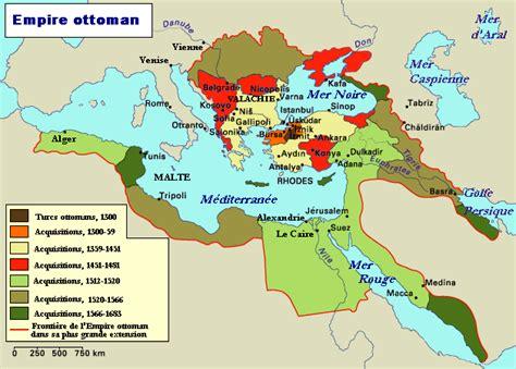 Ottoman Europe by Empire Ottoman Carte