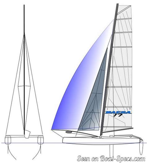 catamaran sailboat dimensions nacra 17 sailboat specifications and details on boat specs
