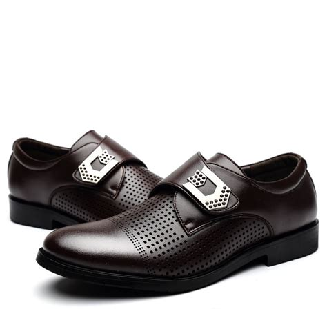 2015 s and summer dress shoes leather