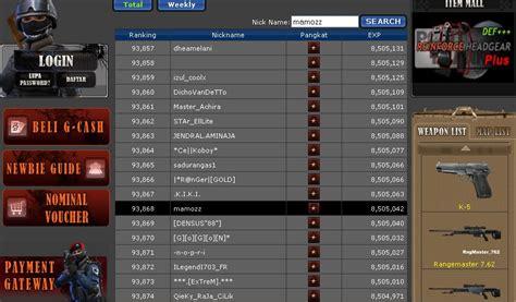 klik dapet duit dijual char pb bintang 1
