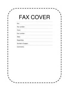 Cover With Sheet Fax Cover Sheet Dashed Lines Fax Cover