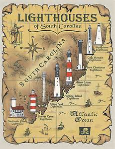 lighthouses of south carolina t shirt