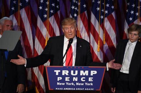 donald trump victory speech full transcript of donald trump s presidential victory